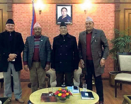 PM Oli takes stock of sports issues, assures on budget