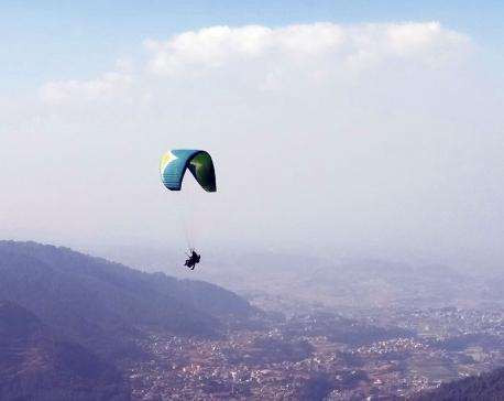 Kathmandu Paragliding back in business