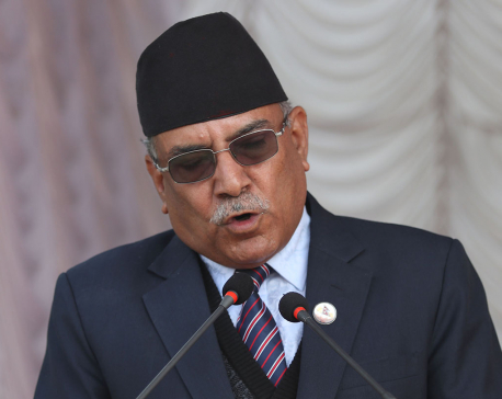 Govt should not overlook its weakness: Dahal