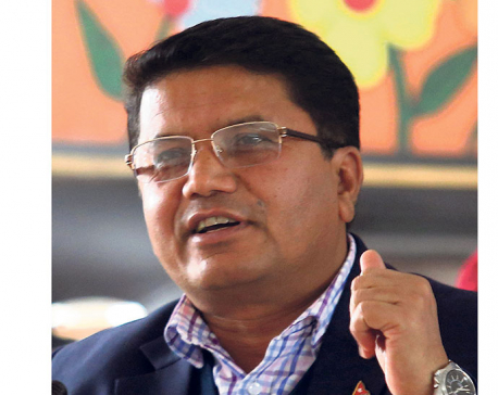 Civil Aviation Minister Adhikari denies his involvement in procurement of wide-body aircraft