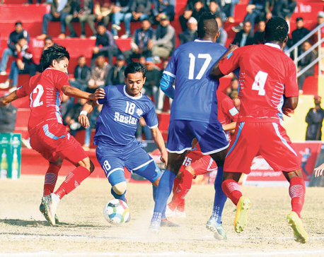 Three Star enters Khaptad semis after late KC goal
