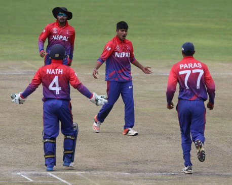 Nepal wins second match against UAE, levels series