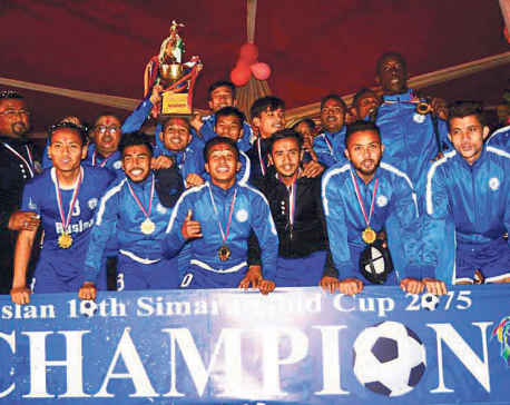 Three Star lifts Simara Gold Cup after sudden-death win