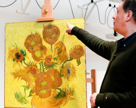 Frail at 130, Van Gogh's 'Sunflowers' will stay home from now on