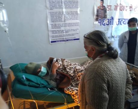 Ex-CJ Sushila Karki expresses solidarity with Dr Govind KC