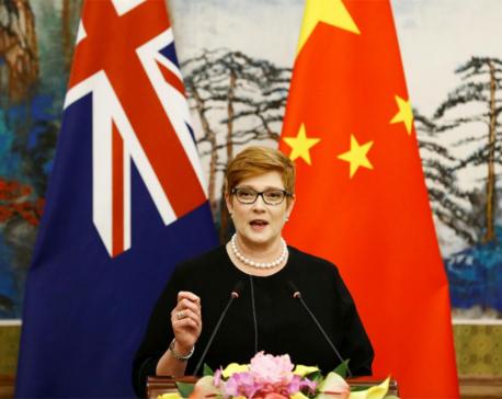 Australian foreign minister in Thailand as Saudi teen seeks asylum