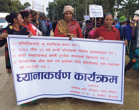 Badis urge govt to implement decade-old agreement