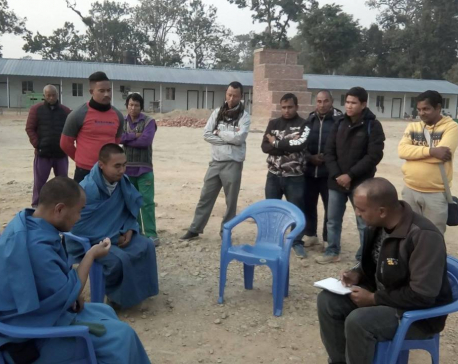 Police arrest two from Bomjom's aashram at Sindhuli