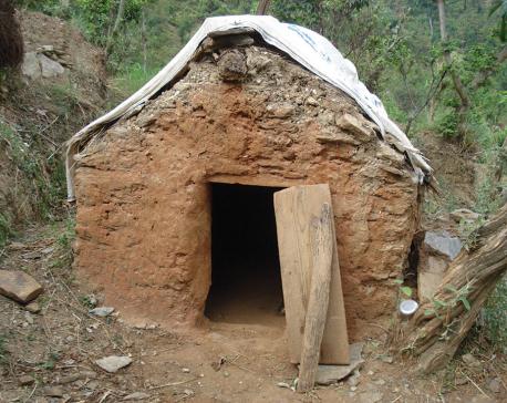 28 chhaugoths demolished in a single ward