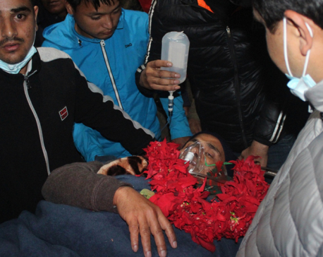 Dr. KC brought to Kathmandu amid deteriorating health condition