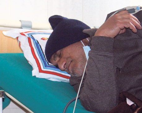 NC protests govt apathy toward Dr KC's fast-unto-death