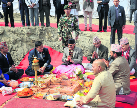 PM lays foundation stone for Chobhar dry port