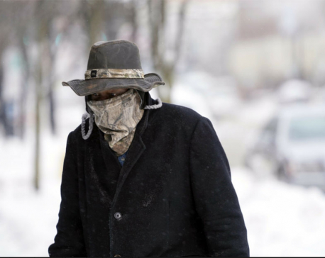 Frigid air, high winds sweep the Northeast; at least 6 dead