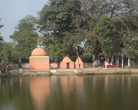 The forgotten: Manthapokhari and the Shiva temple