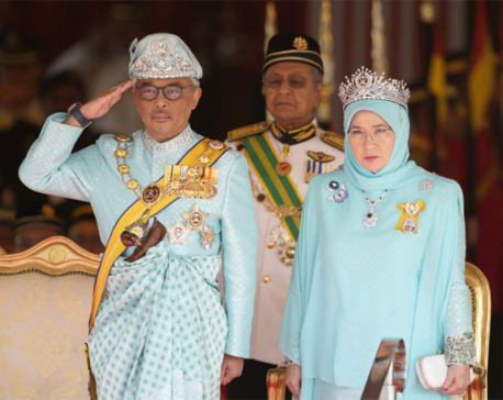 Malaysia crowns Pahang state's Sultan Abdullah as 16th king