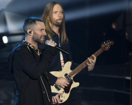 Maroon 5 cancels Super Bowl halftime news conference