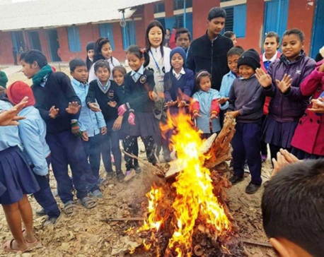 Weather gets colder as mercury drops
