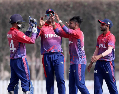 T20 series: Nepal faces 21-run defeat at the hand of UAE