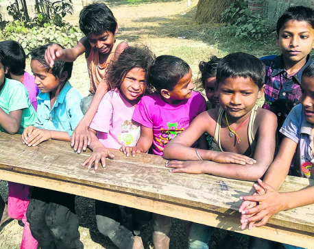 Many Mahottari schools in dire need of resources