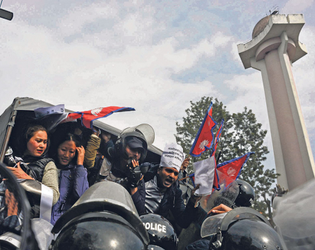 48 arrested in capital for protesting against Medical Education bill
