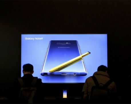 Samsung quarterly operating profit fell on slower demand