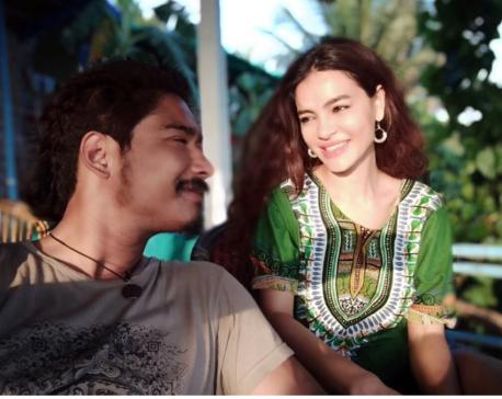 Shristi and Saugat holidaying in Goa