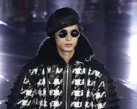 Thom Browne goes for spectacle at Paris Fashion Week