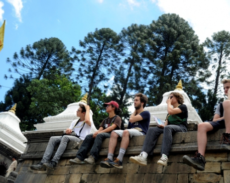 Pashupatinath complex offering serenity to all