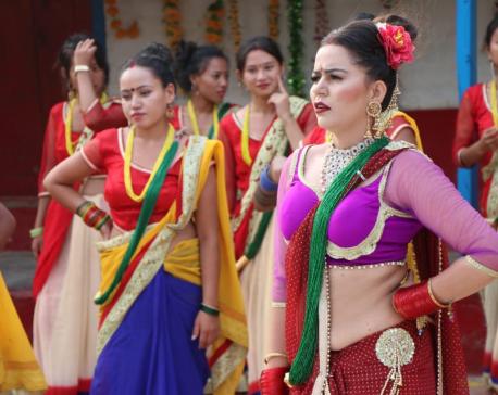 Laxmi releases Teej song