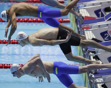 Hungary's Milak breaks Phelps' world record in 200 butterfly