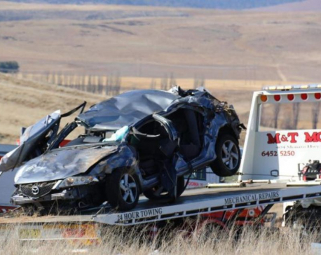 Two Nepali students die in road accident in Australia