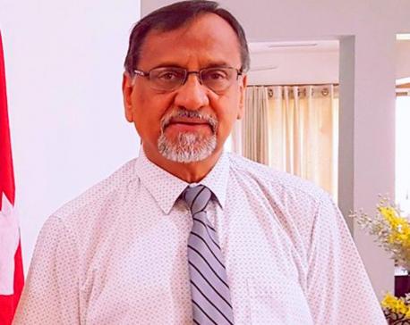 Nepal's ambassador to Sri Lanka Bishwambher Pyakuryal resigns