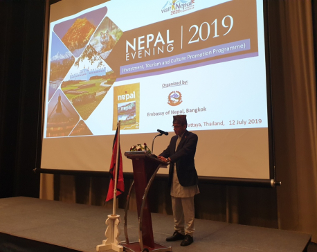 Nepal Embassy in Thailand hosts tourism promotion program in Pattaya