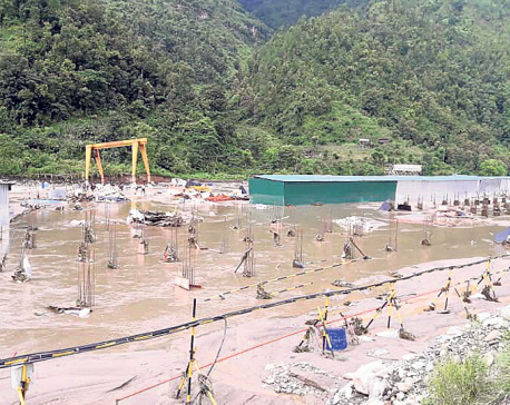 Cement factory incurs losses worth millions due to floods