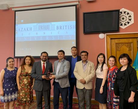British College, Kathmandu signed MoU with Kazakh British Technical University