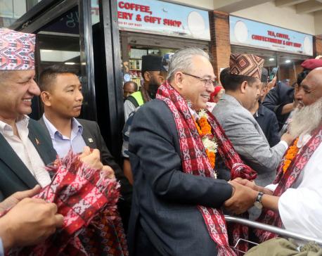 Home Minister sees off Haj pilgrims