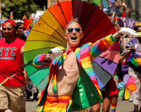 Millions celebrate LGBTQ pride in New York amid global fight for equality