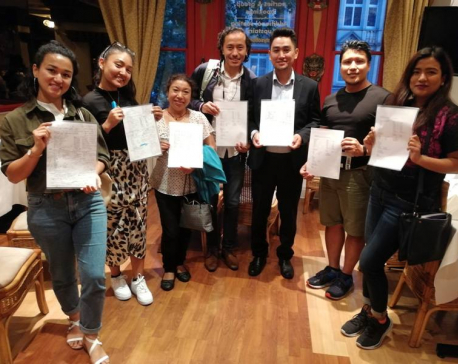 Nepal Bhasha classes start in London