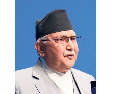 Only dismal progress is seen in KP Oli's dream projects