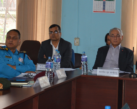 Peace and security crucial for prosperity: Minister Thapa