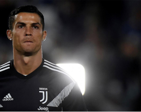 Soccer star Cristiano Ronaldo will not face rape charge in Las Vegas