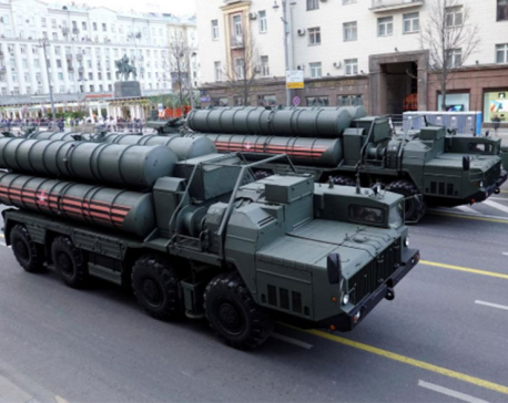 Russia delivers missile system to Turkey in challenge to NATO