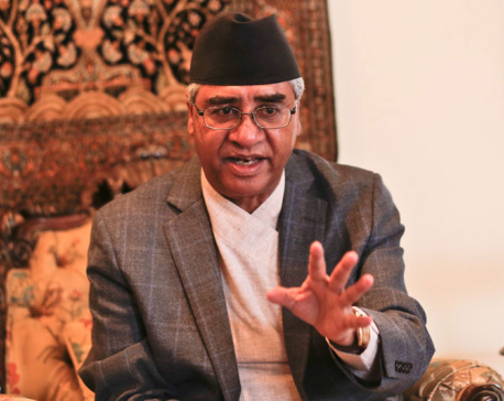 NC will support government's good deeds, says party president Deuba