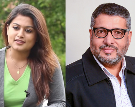 Shilpa Pokhrel files a complaint against her husband Chhabi Raj Ojha
