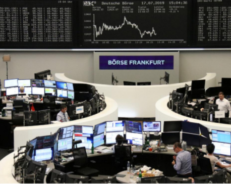Global stocks slide as U.S.-China trade war takes toll on earnings
