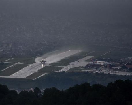 Rain disrupts domestic flights