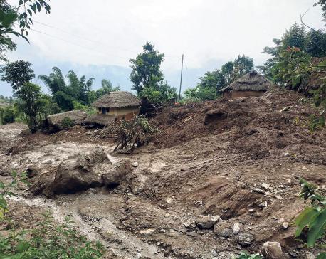 9 killed, 4 missing in Gulmi landslides