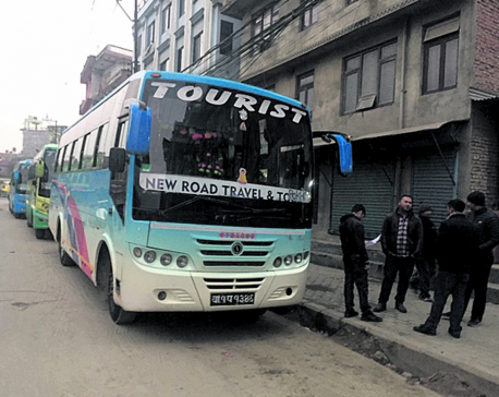 Much-needed tourist bus park stuck in limbo