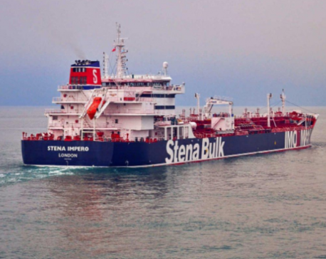 Britain says Iran seizes two oil tankers in Gulf, Iran says captured one