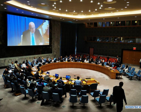 UN Security Council holds open debate on int'l terrorism, organized crime linkage